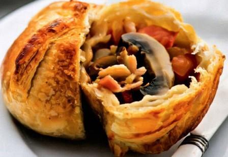 Пирожки с шампиньонами рецепты с фото