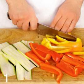Макароны с овощами рецепт